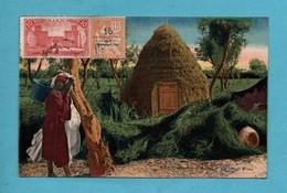 Maroc Scanes Et Types  Un Gourbi Arabe - Maroc