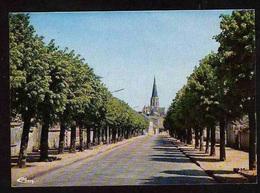 45 PUISEAUX    L'avenue De La Gare - Puiseaux