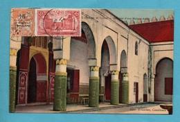 Maroc Scanes Et Types  Interieur D ' Une Maison Arabe - Maroc