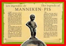 CPM - BRUXELLES - Les Légendes De MANNEKEN-PIS - Monumenten, Gebouwen