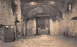 GENT - 's-Gravensteen - Meeste Toren : Feest-en Gerechtzaal (1180) - Gent