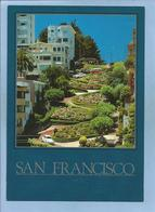San Francisco (California) Lombard Street The Crookedest Street In The World 2 Scans Coccinelle Volkswagen - San Francisco
