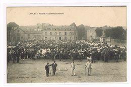 CPA. Cholet. Marché Aux Bœufs Le Samedi.     (460) - Cholet