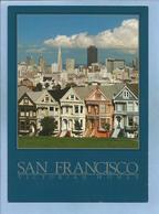 San Francisco (California) Quaint Victorian Homes 2 Scans Skyline - San Francisco