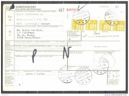 Bulletin D'Expédition - Colis Postaux - Danemark - Cachet RUDKOBING - 07/12/1981 - Denmark
