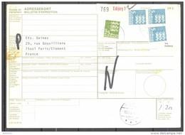 Bulletin D'Expédition - Colis Postaux - Danemark - Cachet ESBJERG - 10/12/1981 - Denmark
