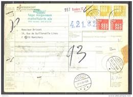 Bulletin D'Expédition - Colis Postaux - Danemark - Cachet RANDERS - 23/05/1980 - Denmark