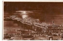 CP Postcard. Timbre Anglais. Taxée En France. Cachets  De Brighton Et Clichy. Cachet Hexagonal T10 - Brighton