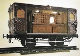 Premier Wagon Poste 1845 Paris Rouen (2 Scans) - Postal Services