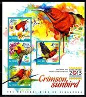 """Sierra Leone    """"Birds""""    Sheet Of 4 & Souvenir Sheet    SC# 3340-41    MNH - Sierra Leone (1961-...)"""