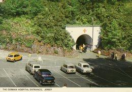 The German Hospital Entrance, Jersey Postcard Z1 - Postcards