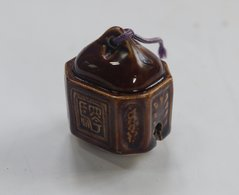 Japanese Ceramic Grelot - Asian Art
