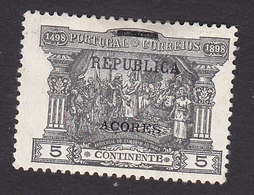 Azores, Scott #149, Mint Hinged, Postage Due Overprinted, Issued 1911 - Azores