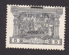 Azores, Scott #149, Mint No Gum, Postage Due Overprinted, Issued 1911 - Açores