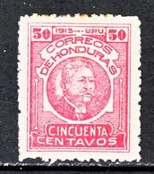 HONDURAS   160    * - Honduras