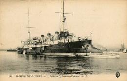 """BATEAU DE GUERRE - CROISEUR CUIRASSE """" POTHUAU """" - Guerre"""