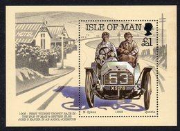 GB ISLE OF MAN IOM - 1995 MOTOR RACING 90th ANNIVERSARY MINIATURE SHEET SG MS655 FINE MNH ** - Isle Of Man
