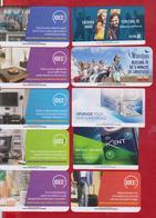 ROMANIA 10 X CIGARETTES CARD - Tobacco (related)