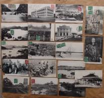 Viet-Nam : Lot De 29 CPA (1906 Et 1907, EM à TBE) Voir Les 31 Scans Et Le Descriptif - Viêt-Nam