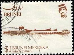 Sultan's Palace, Brunei Stamp SC#309 Used - Brunei (1984-...)
