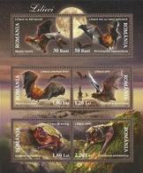 ROMANIA 2006 Bats Ss MNH - Blocks & Kleinbögen