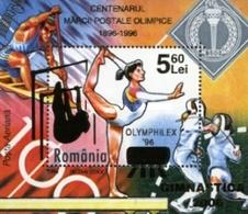 ROMANIA 2006 OLYMPHILEX 2006 Ss MNH - Blocs-feuillets