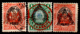 Peru-0018 - Emissione 1883 (o) Usato - Senza Difetti Occulti. - Perú
