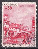 Monaco  (1972)  Mi.Nr.  1042  Gest. / Used  (9ba07) - Gebraucht