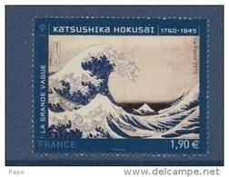 2015-N°4923** KATSUSHIKA HOKUSAI - France