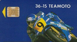 TELECARTE 50   ..36-15  TEAMOTO - France