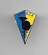 PINS MILITARIA 22 ème B.C.A. BATAILLON DE CHASSEURS ALPIN ALBERVILLE 1892 NICE 1992 / Base Argentée / 33NAT - Army