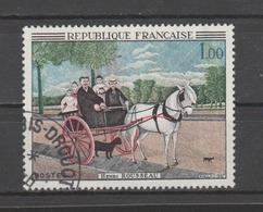 """FRANCE / 1967 / Y&T N° 1517 : """"La Carriole..."""" (Douanier Rousseau) - Choisi - Cachet Rond - France"""