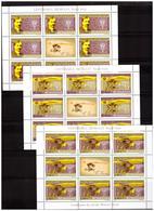 ROMANIA 2006 Centenary Of Flight Of Traian Vuia 3 MS MNH - Blocks & Sheetlets