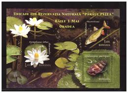 ROMANIA 2008 Nature Reserve Ss  MNH - Blocs-feuillets