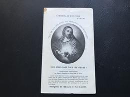 VIVE JESUS DANS TOUS LES COEURS - Ligue Des Femmes Françaises - Andachtsbilder