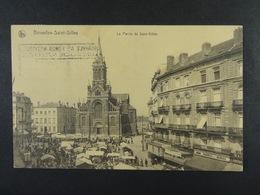 Bruxelles-Saint-Gilles Le Parvis De Saint-Gilles (marché) - St-Gillis - St-Gilles