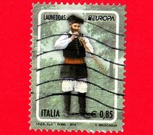 ITALIA - Usato - 2014 - Europa - 0,85 - Launeddas - Strumenti Musicali - 2011-...: Usati