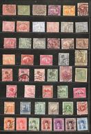 EGYPTE Lot Dès 1874 Sur 5 Pages D'album - Unclassified