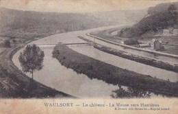 Waulsort, Le Château. La Meuse Vers Hastieres (pk49126) - Hastière