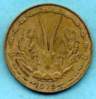 (r65)  WEST AFRICAN STATES 10 Francs 1978  AFRIQUE OUEST  Km#1a - Monnaies