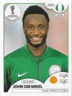 VIGNETTE PANINI FIFA WORLD CUP RUSSIA 2018 NIGERIA JOHN OBI MIKEL N°341 - Panini