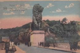 Barrage De La Gilippe Le Lion Et Le Pont (pk49136) - Gileppe (Barrage)