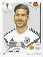 VIGNETTE PANINI FIFA WORLD CUP RUSSIA 2018 ALLEMAGNE EMRE CAN N°442 - Panini