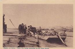 Mission, Missiën Van Scheut, China, Een Lastige Inscheping Op Den Gelen Stroom, Yellow River (pk49139) - Missions