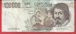 Billet ITALIE De 100 000 LIRE 1983 Voir Scan  N02 - [ 2] 1946-… : Républic
