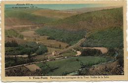 TROIS-PONTS : Panorama Des Montagnes De La Tour. Vallée De La Salm - Trois-Ponts