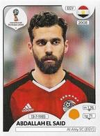 VIGNETTE PANINI FIFA WORLD CUP RUSSIA 2018 EGYPTE ABDALLAH EL SAID N°87 - Panini