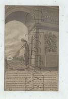 Militaria (Guerre GM1) : Remise De La Palme à L'arc De Triomphe Soldat Inconnu Illustration Et Poème En 1918 (animée) P. - Guerre 1914-18