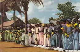 Voyage Du Roi Au Congo été 1955, Reis Van De Koning In Congo Zomer 1955, Cote D'or Chocolat (pk49150) - Belgian Congo - Other