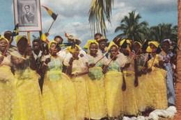 Voyage Du Roi Au Congo été 1955, Reis Van De Koning In Congo Zomer 1955, Cote D'or Chocolat (pk49151) - Belgian Congo - Other